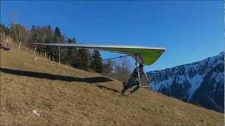 Slowmotion Hang Gliding Wills Wing T2