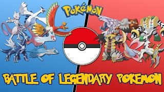 Battle of the Legendary Pokemon 01 - |Pokemon Battle Revolution| Let