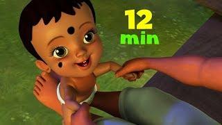 அன்பொளியே கண்ணுறங்காய், பொன்னொளியே கண்ணுறங்காய் | Tamil Lullaby & Baby Song Collection | Infobells