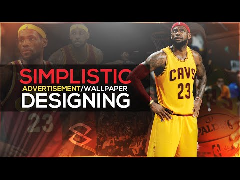 Photoshop Tutorial: Simplistic Ad/Wallpaper Designing