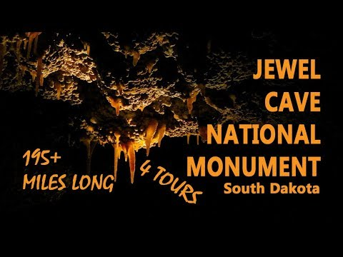 Longest Cave in World? - Jewel Cave National Monument in South Dakota