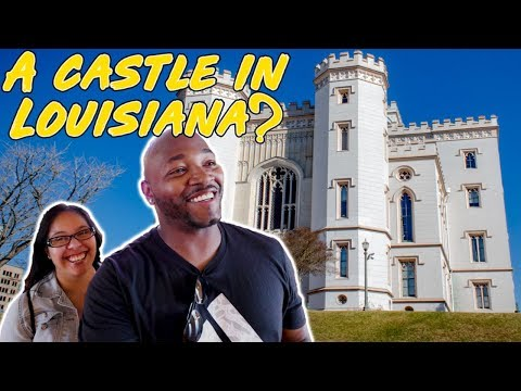 Baton Rouge Old State Capitol Building | Haunted Building In Louisiana | RV Life