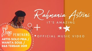Video RAHMANIA ASTRINI - IT'S AMAZING (Official Music Video) 2018 download MP3, 3GP, MP4, WEBM, AVI, FLV Agustus 2018
