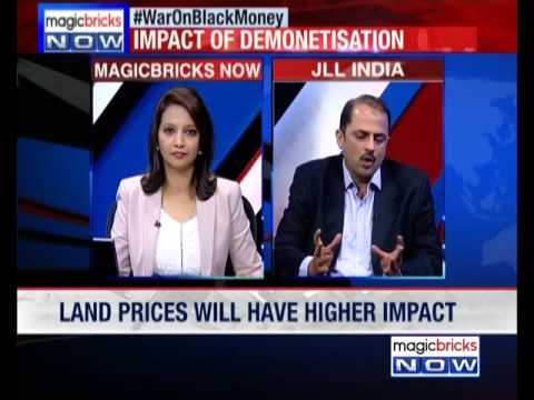 Will demonetization have an effect on land prices? - Property hotline