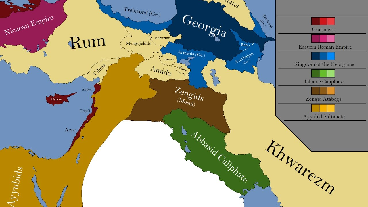 The Mediaeval Middle East: Every Year - YouTube