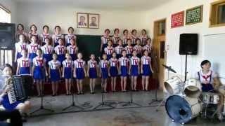 Untuk Indonesia - Anak-anak Korea Utara menyanyikan lagu Tanah Airku