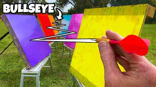 The Most Difficult Bullseye Ever! (6 Pallet Skip ZIGZAG!!)