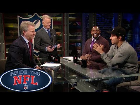 Week 10 Game Picks with Special Guest Mark Wahlberg | Inside the NFL