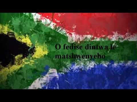 South African anthem