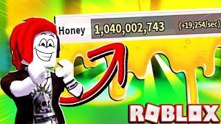 Helping My Girlfriend Reach 1 BILLION HONEY In Roblox Bee Swarm Simulator