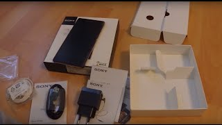 sony Xperia Z2 (D6503) Purple - Unboxing