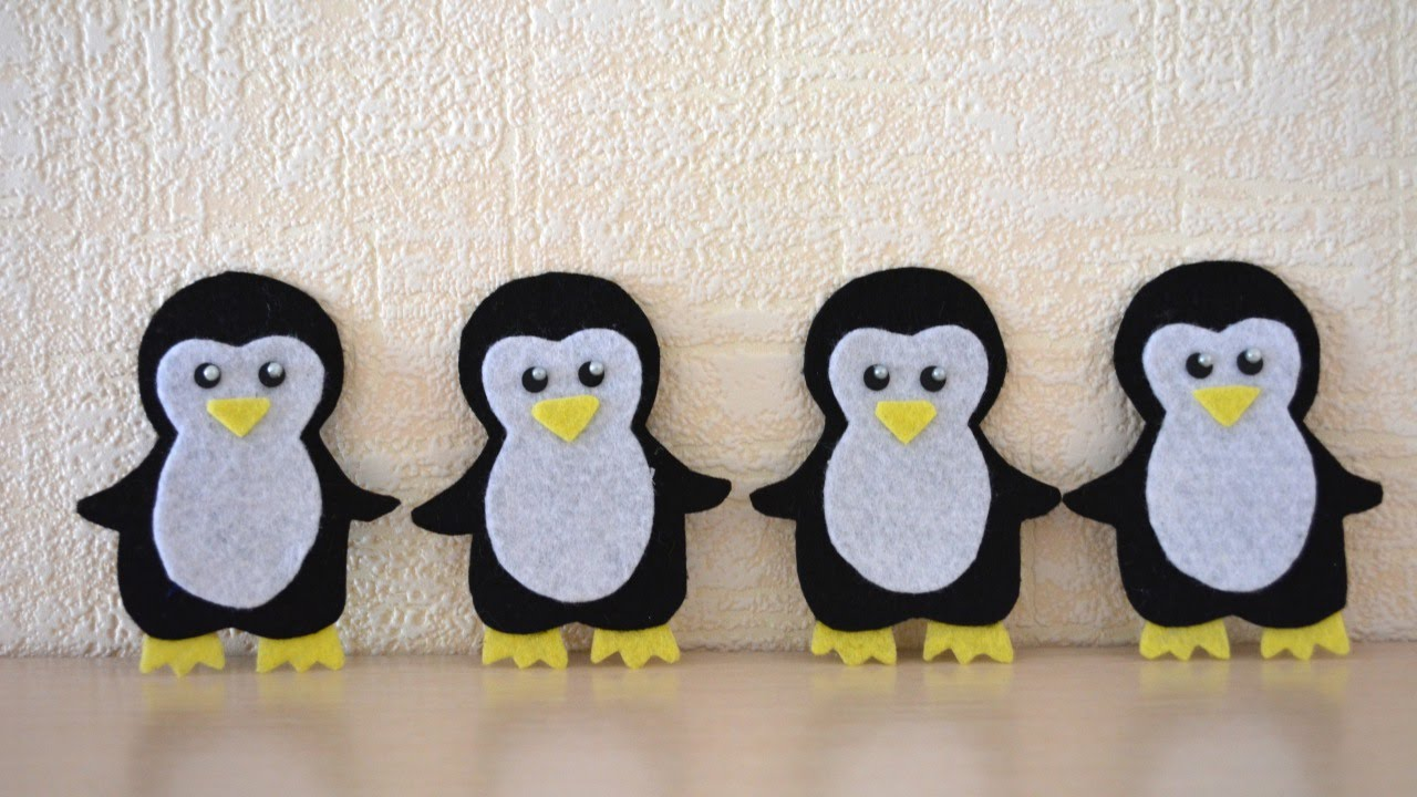 Penguin Christmas Cards Craft