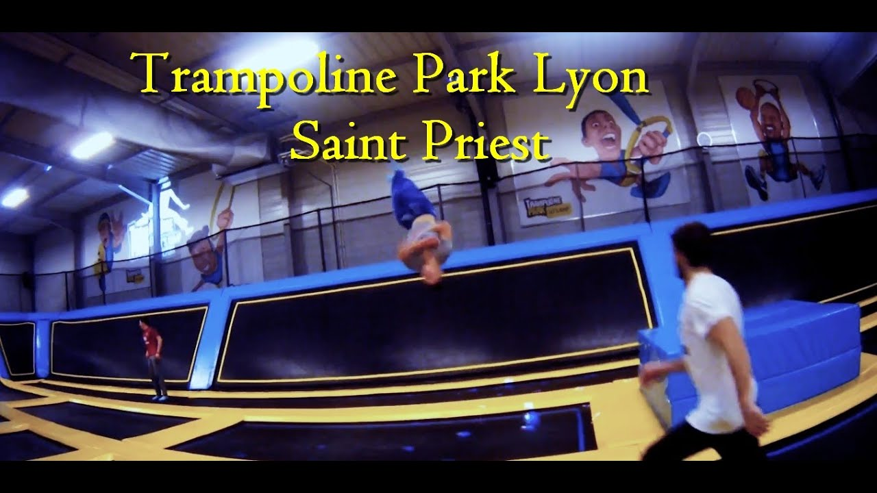 trampoline park lyon saint priest youtube. Black Bedroom Furniture Sets. Home Design Ideas