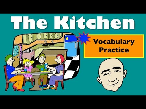 In The Kitchen   Vocabulary-Based Conversations   English Speaking Practice   ESL   EFL   ELL