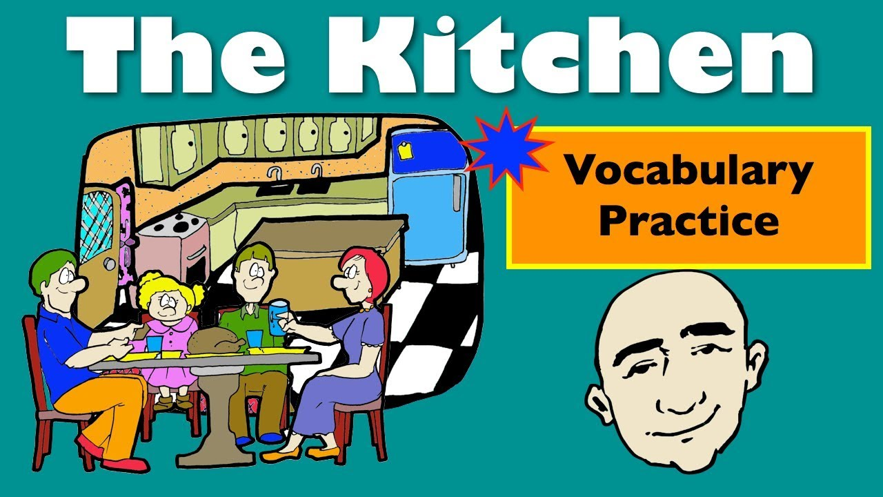 In The Kitchen | Vocabulary-Based Conversations | English Speaking ...