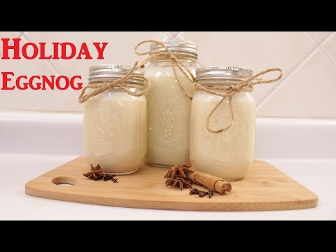 Thumbnail: Holiday Eggnog Recipe