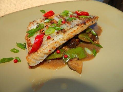 Как приготовить судака/Вкусный рецепт/Азиатский стиль
