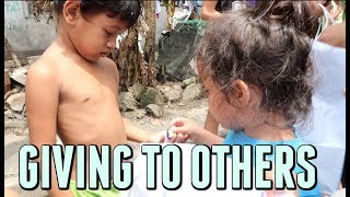 GIVING AWAY THEIR CANDY! - October 06, 2017 -  ItsJudysLife Vlogs