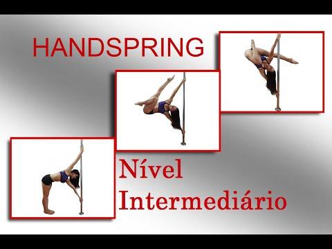 HANDSPRING - Tutorial de Pole Dance por Alessandra Rancan