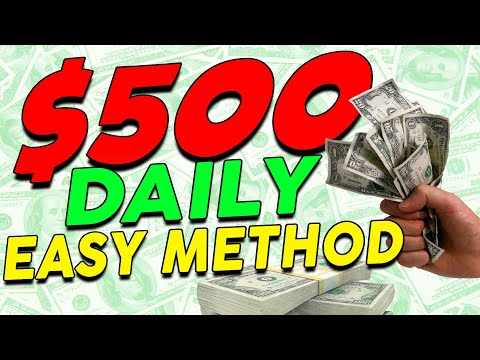 Earn a 🔥💰QUICK $500+ a DAY💰🔥 On Autopilot *EASY METHOD* (Make Money Online) thumbnail