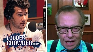 Larry King Unknowingly Reveals Media Malpractice || Louder With Crowder
