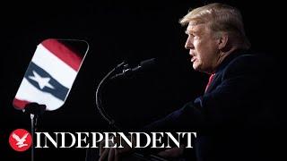 Live: Trump holds a MAGA rally in North Carolina