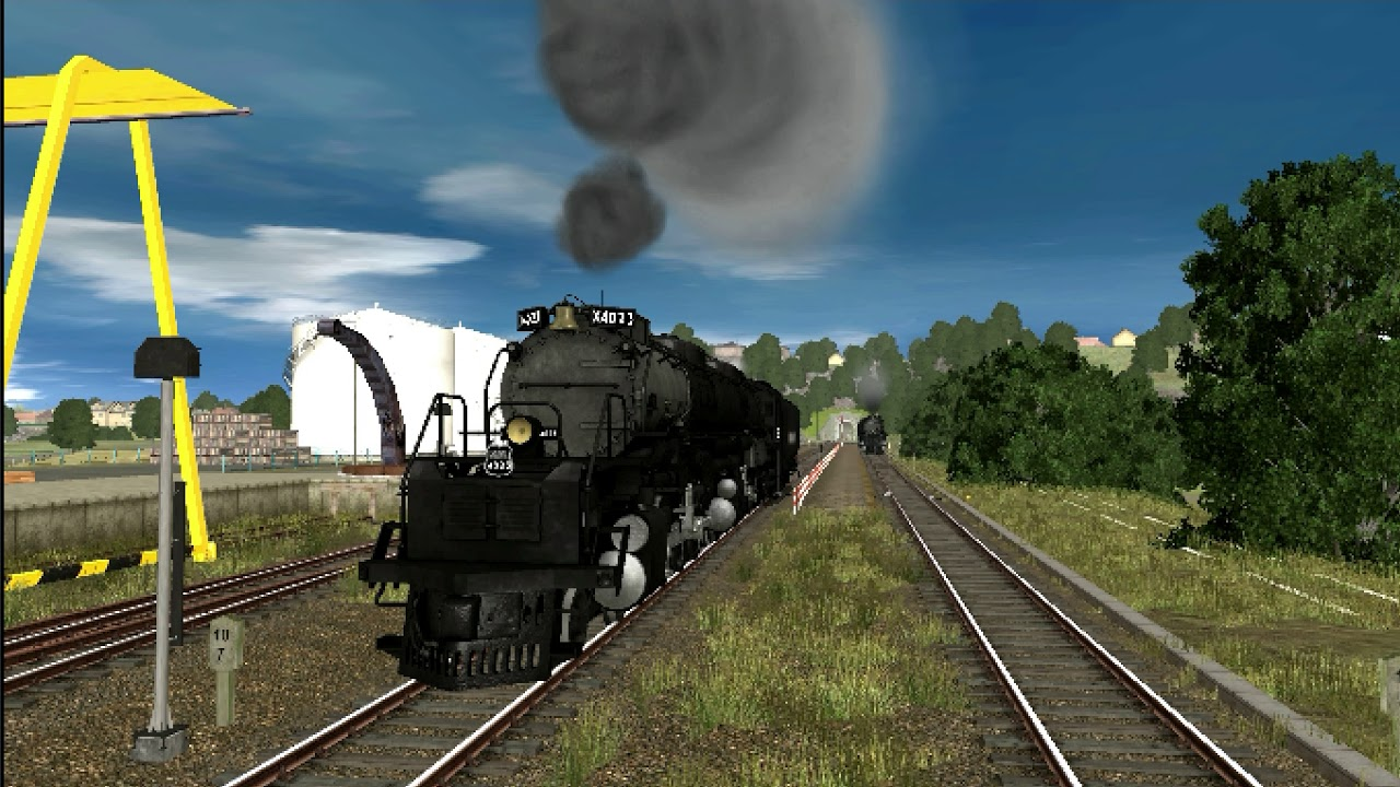 Big Boy [FREEWARE] Trainz a New Era Review From Trainz Forge NEW!