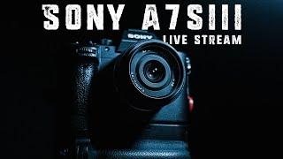 SONY A7SIII Reaction Live Stream