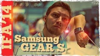 Первый обзор Samsung Gear S: умные часы - звонилка! [IFA2014]