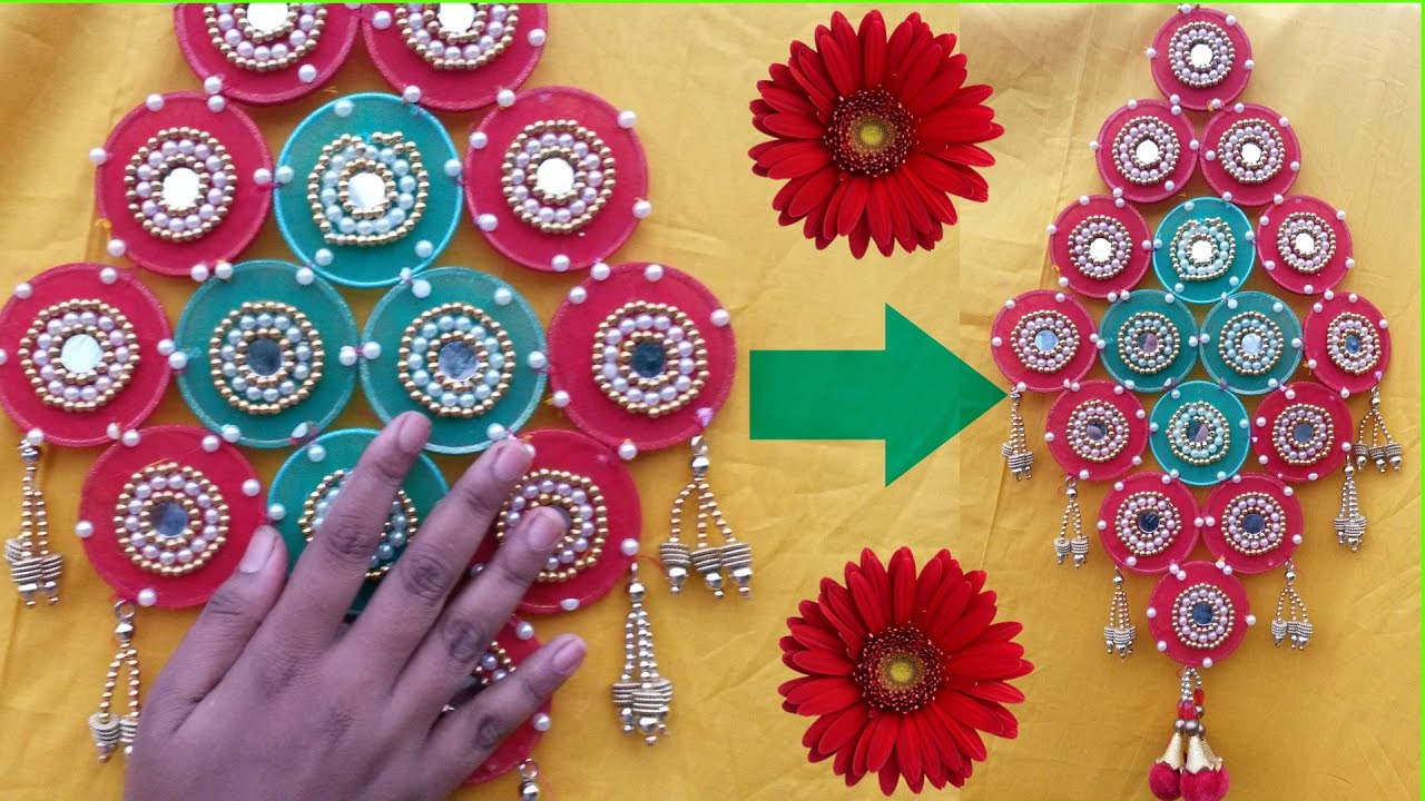 Room Wall Decoration With Waste Material : Diy crafts wall hanging craft ideas room decor