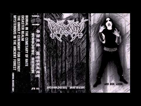 """Dark Mystery-Magical Realm 2001""""one man underground fast raw black metal from Thailand"""""""
