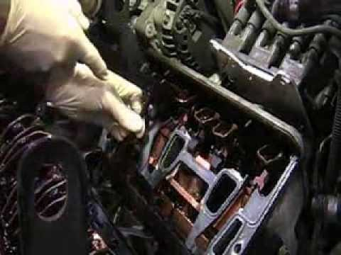 Auto Repair GM Intake Gasket Replacement with Pushrod Tool