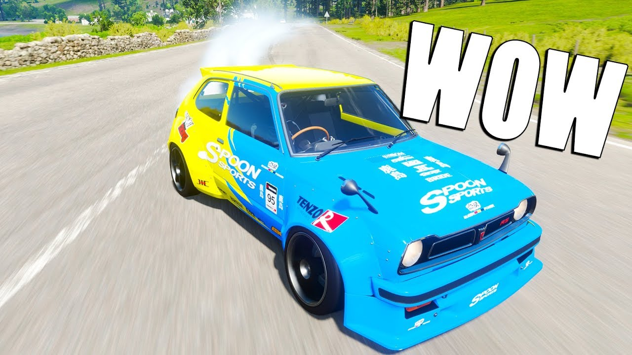 DRIFTING A FRONT WHEEL DRIVE CIVIC & WOW | Forza Horizon 4