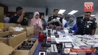 Johor vape seizures done in accordance with Federal law, say police