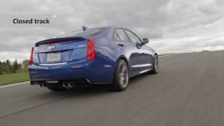 Cadillac ATS-V Coupe Test Drive