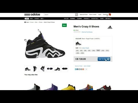 Canadian Sneaker Deals #2: Adidas/Reebok.ca 40% OFF!