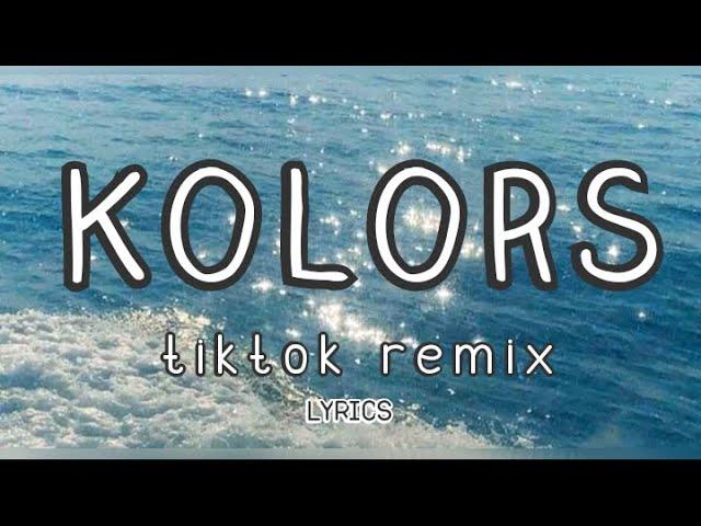 Kolors Tiktok Remix Lyrics Monte Booker Youtube