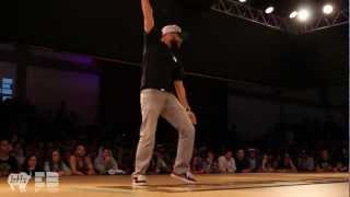 DJIDAWI Popping Judge Demo | EUROBATTLE 2012 | Porto, Portugal