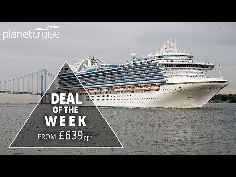Crown Princess, 7 Night Norwegian Fjords From £639pp | Planet Cruise Deals of the Week