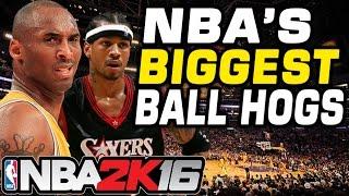 NBA's Biggest Ball Hogs (No Passing Challenge)