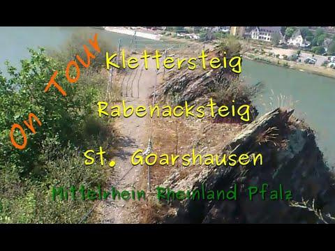 Klettersteig Nochern : On tour #2: rabenacksteig st. goarshausen youtube