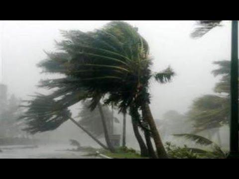 Super Typhoon Vongfong Ompong Landfall & Hits Okinawa Japan Hurricane - Cyclone Storm 台風第19号 2014!!!
