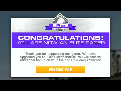 Real Racing 3 - Upgrade To Elite Racer (Reach Level 150)