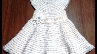 Платье для девочки. 1 год.