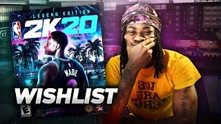 My NBA 2K20 Wishlist will make it the GREATEST 2k in History...The Official List the WORLD must SEE!