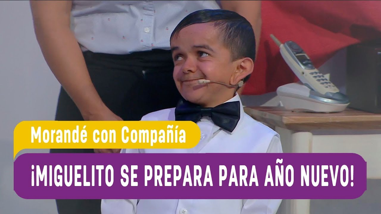 ¡Miguelito y su mamá se preparan para año nuevo! - Morandé con Compañía 2019 1