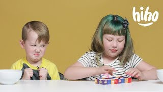 Kids Play Bean Boozled Challenge | Kids Play | HiHo Kids