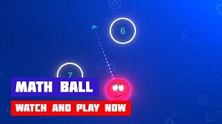 Math Ball · Game · Gameplay
