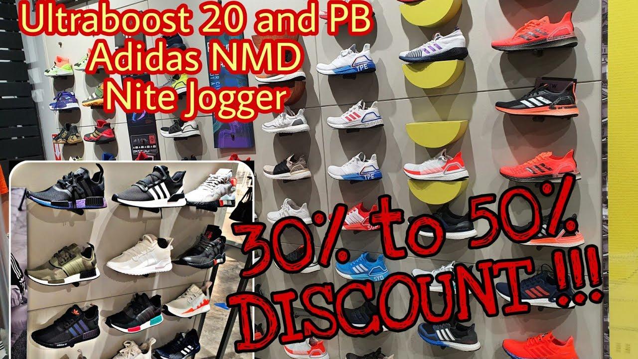 30% to 50% DISCOUNT Adidas Ultraboost 20, NMD, Nite Jogger, Senseboost, PulseBoost HD