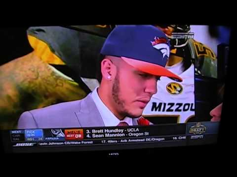 Shane Ray (Missouri) Drafted By Denver Broncos
